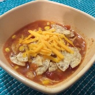 Super Simple Taco Soup