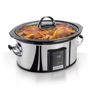 Crock-Pot Programmable Touchscreen 6.5-Quart Slow Cooker