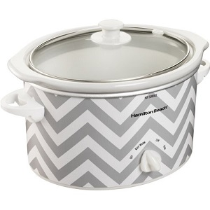 Hamilton Beach 3-Quart Slow Cooker, Chevron