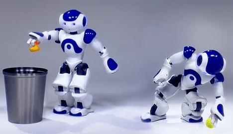 피지컬 로봇을 위한 모션 플래닝 (출처: gamma.cs.unc.edu http://gamma.cs.unc.edu/PROBOT/ )