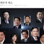 주간 뉴스 큐레이션: 재벌 3세, 경영능력시험 전원 낙제