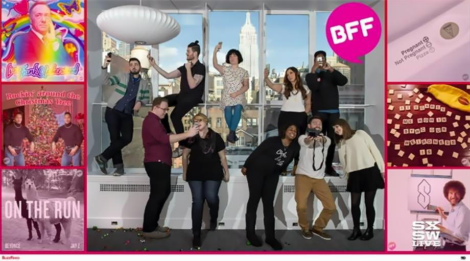 버즈피드 - BFF는 버즈피드 안의 새로운 팀이다.