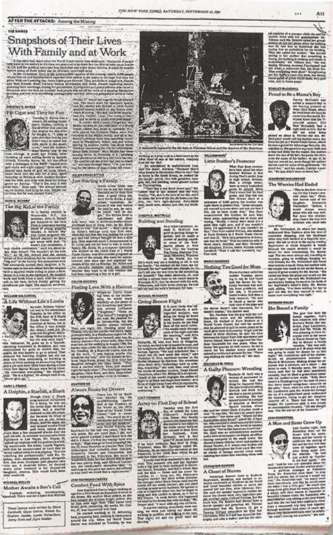 뉴욕타임스 '슬픔의 초상'