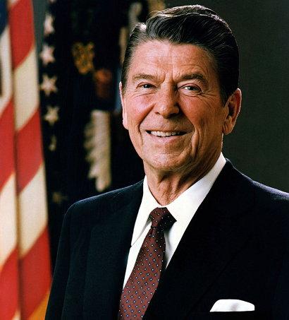 로널드 윌슨 레이건(Ronald Wilson Reagan, 1911년 2월 6일 ~ 2004년 6월 5일)