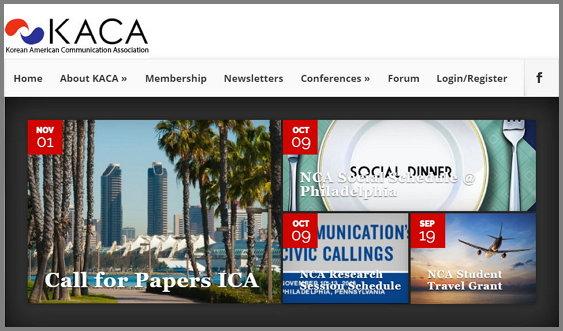 KACA 홈페이지