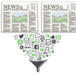 뉴스 큐레이션의 서비스 영역과 그 구성요건들