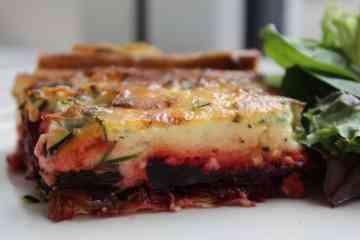 Beetroot & Gorgonzola Tart