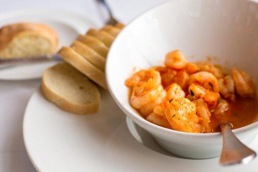 Spicy Habanero Butter Shrimp