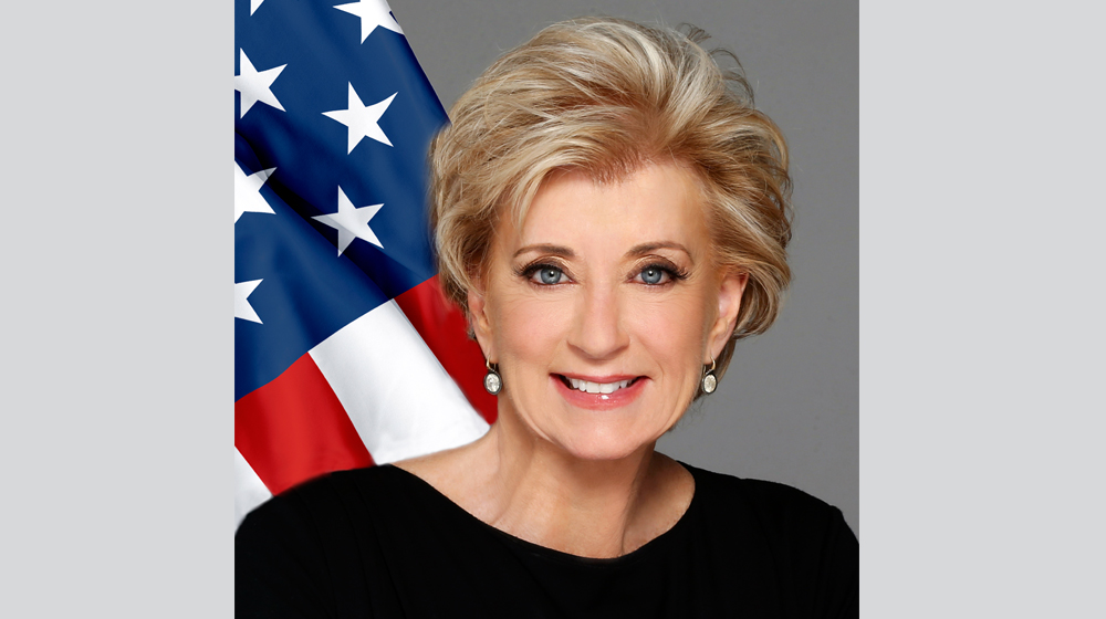 Linda McMahon Is Optimistic Is Optimistic About the Small Business Economy