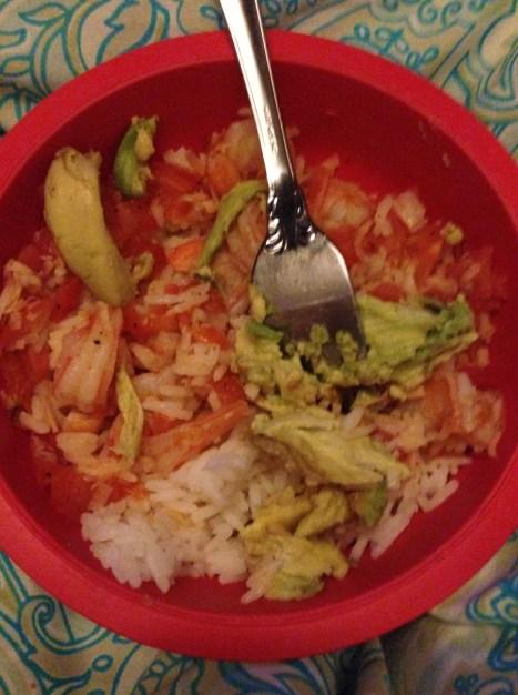 Spiced Shrimp with Veggies over Jasmine Rice