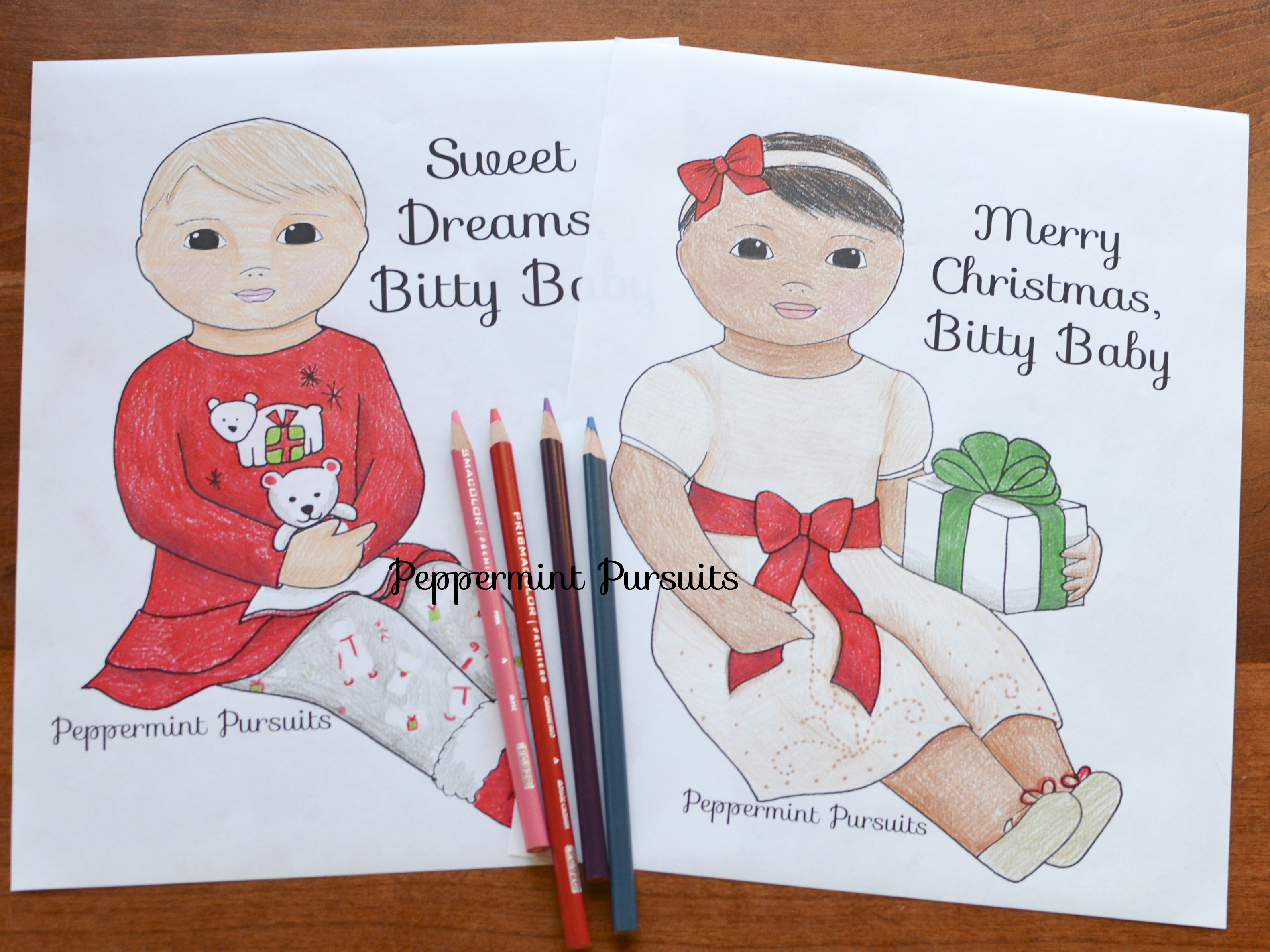 November 2015 new coloring pages clay food and more in for Bitty baby coloring pages