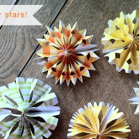 make . DIY Paper Stars