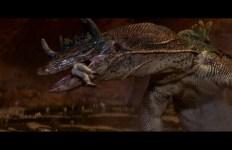 Très beau plan d'une des attaques des dinosaures @20th Century Fox