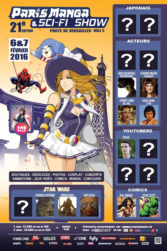 Paris Manga 21e édition : on prend les mêmes...