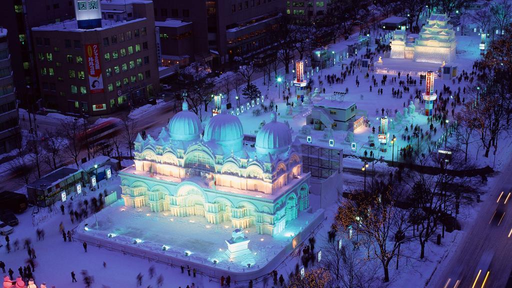 Sapporo nuit