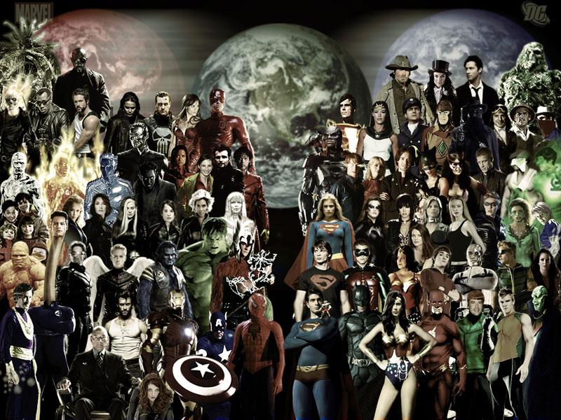 Superhéroes en el cine-original