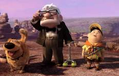 Rétro Pixar Là-haut