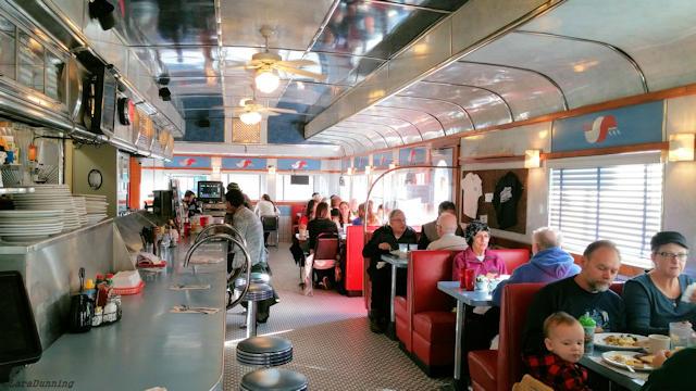 Inside the Madison Diner