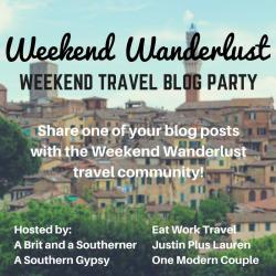 weekend wanderlust badge