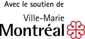 Logo Ville-Marie - Avec le soutien - Couleur 600 dpi