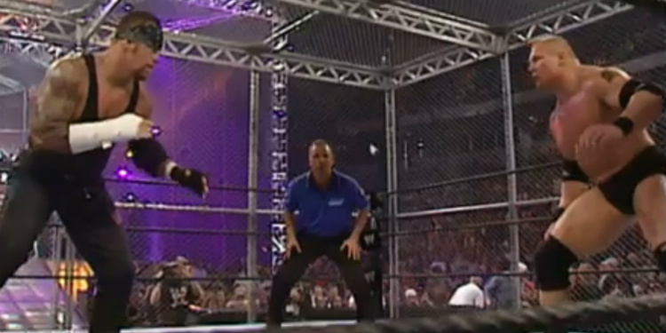 Undertaker Vs Brock Lesnar No Mercy 2002 Arvio: The Undertaker ...