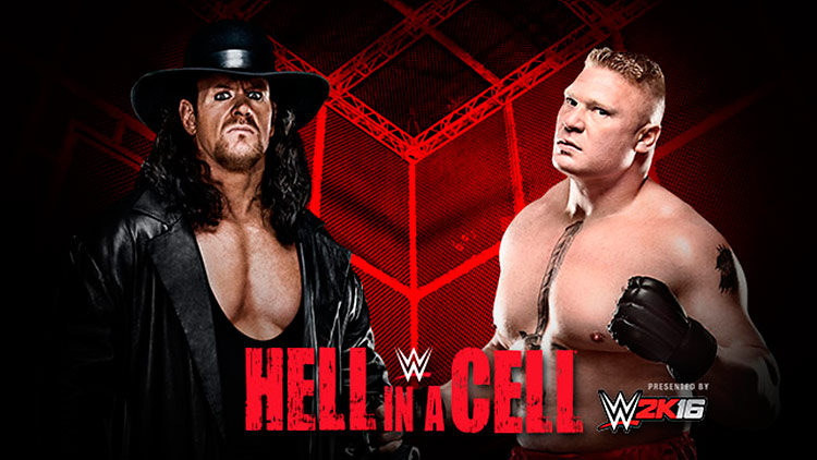 The Undertaker vs. Brock Lesnar – Hell in a Cell Match