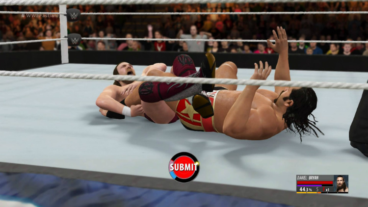 wwe 2k16 daniel bryan rusev submission