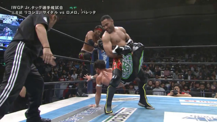 njpw invasion attack roppongi vice vs ricochet sydal
