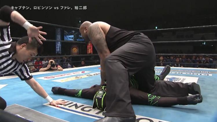 njpw wrestling dontaku fale takahashi vs captain new japan juice robinson