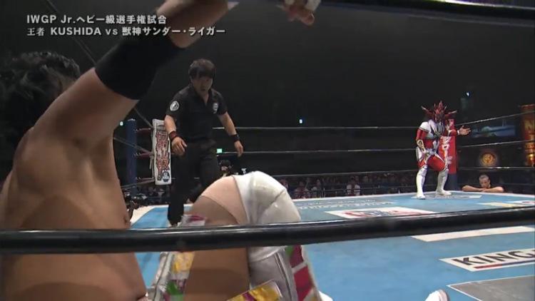 njpw wrestling dontaku kushida vs jushin liger