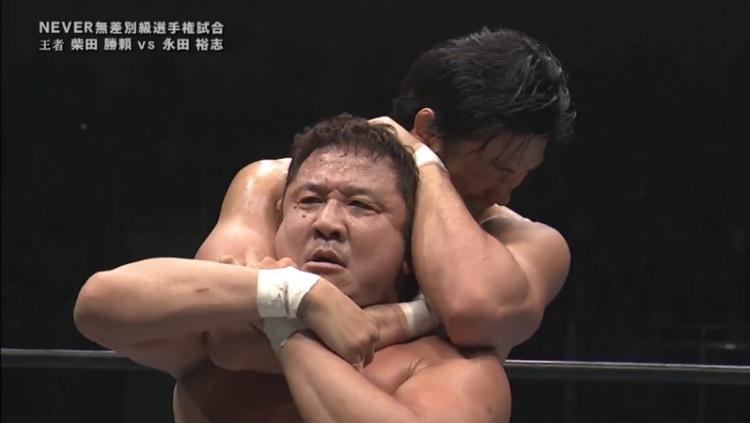njpw wrestling dontaku yuji nagata vs katsuyori shibata