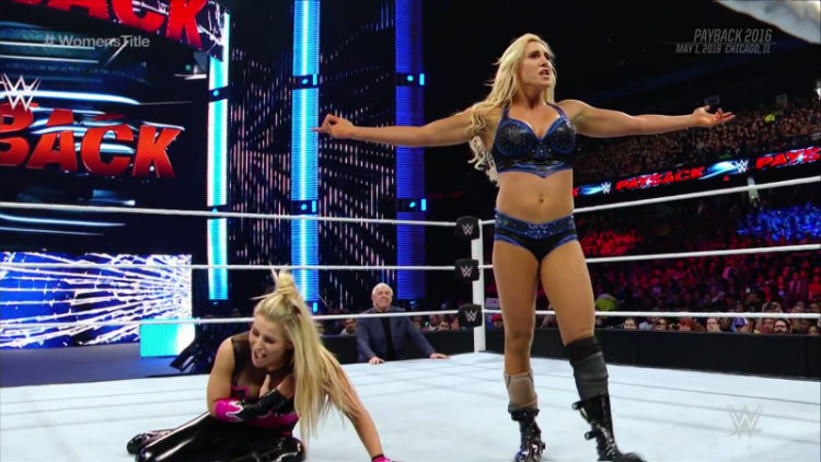 wwe payback charlotte vs natalya