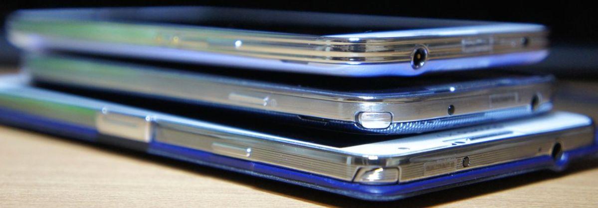 Samsung GALAXY S5とGALAXY S4、Note 3と比較してみました。