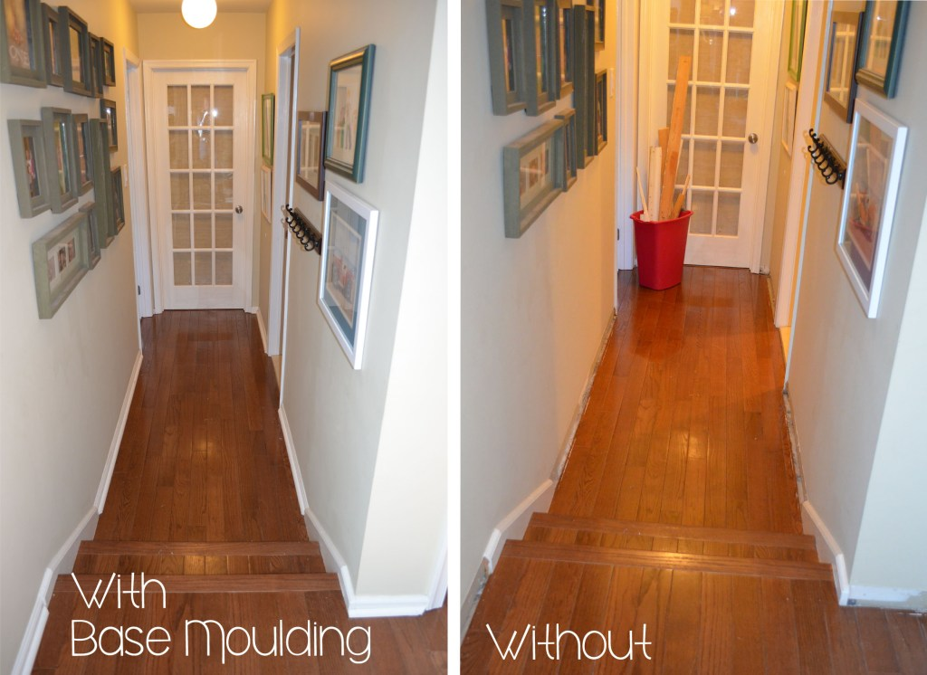 Base moulding what not to do for How long does it take to install hardwood floors