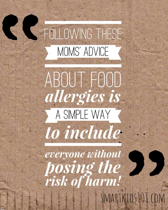 What to do when your child is around someone with a food allergy. These are common food allergy tips from http://smartkids101.com