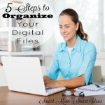 Organize your digital data in 5 easy steps