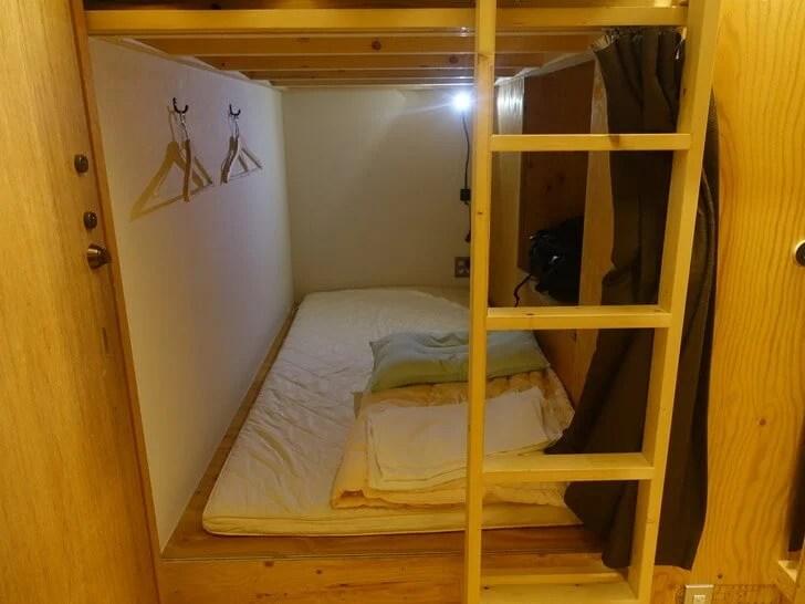 みつわ屋のドミトリールームの写真