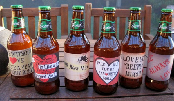 Valentine's day beer printable's are the perfect gift for the guy you love. Give him a gift that he actually wants this year. You can't go wrong with beer! Valentine's day gifts for him doesn't have to be a headache. This instant printable will save you a ton of time and money. They are unique, romantic and best of all they are DIY.