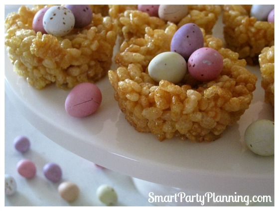 Honey Joys as Cute Easter Desserts