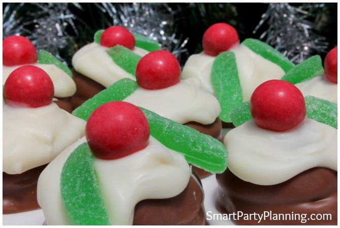 Mini Chocolate Christmas Pudding