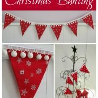 Christmas Bunting Giveaway