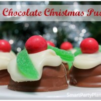 Mini Chocolate Christmas Pudding