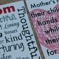 Mother's Day printable wine labels