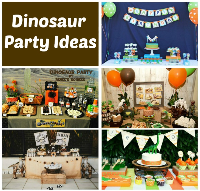 to absolutely love a dinosaur birthday party. With ideas for dinosaur ...