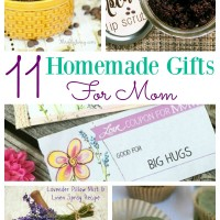 A DIY gift for Mother's Day is often the best type of gift to give. This selection of homemade gifts for mom however is not just your normal type of crafts, but some DIY gifts that mom is really going to be able to spoil herself with. She can pamper away, without you having to spend a fortune on spa treatments! No 11 is just the icing on the cake!