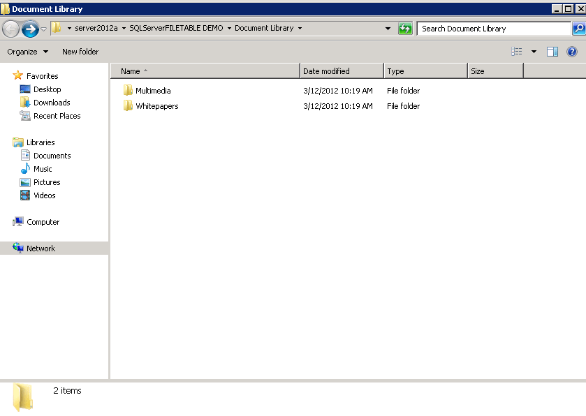 File Table in SQL Server 2012  - Great flexibility to manage filestream data (4/6)