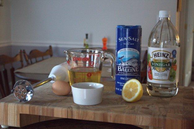 Mayo Ingredients