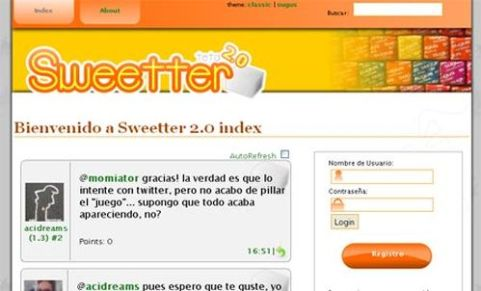 sweetter phyton microblogging software 12 Open Source Microblogging Software