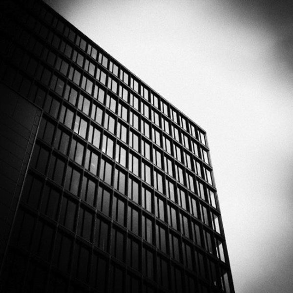Black and White Urban Architecture Photography by Daniel Hachmann