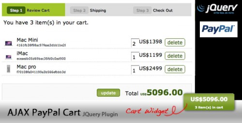 jquery shopping cart plugin 01 13 jQuery Shopping Cart Plugin and Tutorial